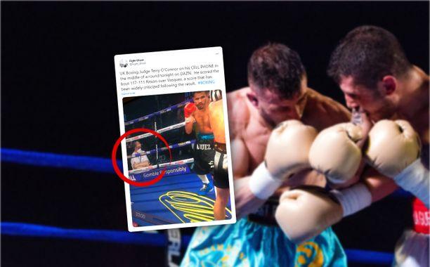 Terry O'Connorin tapausta tutkitaan Britannian nyrkkeilyliitossa.
