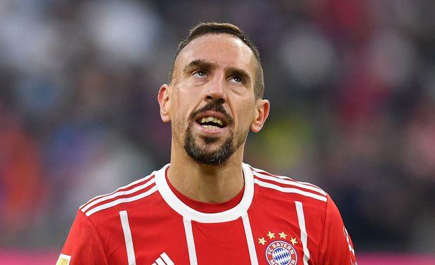 Franck Ribery aloitti maalinteon.