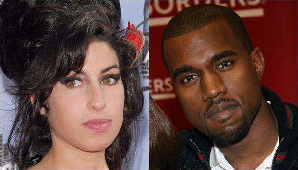 Amy Winehouse ja Kanye West matkaavat Grammy-gaalasta kotiin mahdollisesti useamman pystin kanssa.
