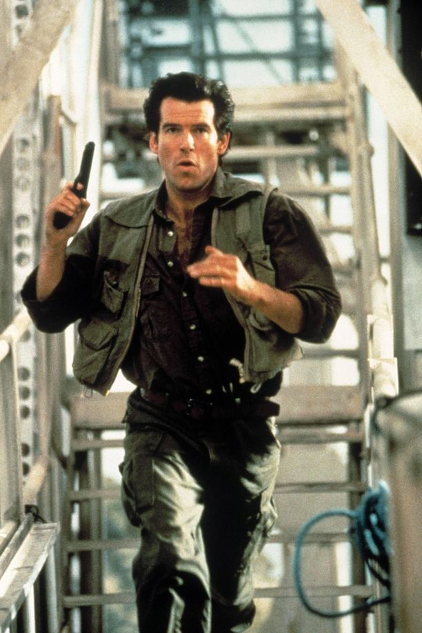 007-agentin roolissa Pierce Brosnan nähtiin huippukunnossa.