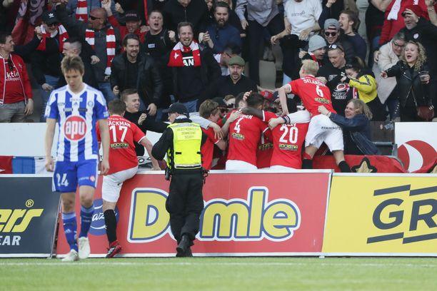HJK ja HIFK pelasivat 1–1-tasapelin.