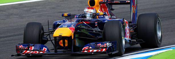 Sebastian Vettel on MM-sarjassa neljäntenä.