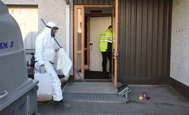 Kerrostalon kellarikomerosta löytyi viiden vauvan ruumiit Oulun Heinäpäässä viime viikolla.
