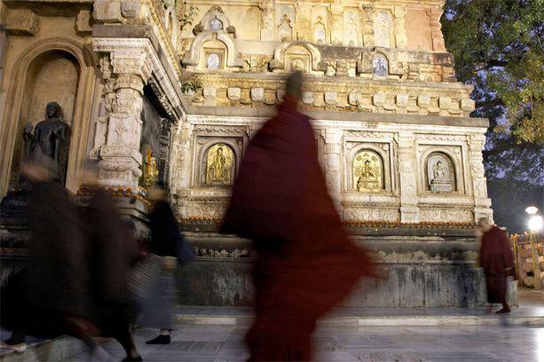 Bodh Gaya on buddhalaisille pyhä paikka, sillä Siddharta Gautaman eli Gautama Buddhan sanotaan kokeneen siellä valaistumisen.