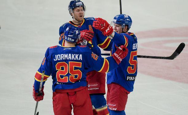 Jokereiden kolmas KHL-kausi on alkanut heikosti. Se on pudotuspeliviivan alla yhdeksäntenä.