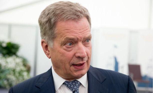 Tasavallan presidentti Sauli Niinistö sanoo, että Suomessa asuminen edellyttää suomalaisten arvojen hyväksymistä ja omaksumista.