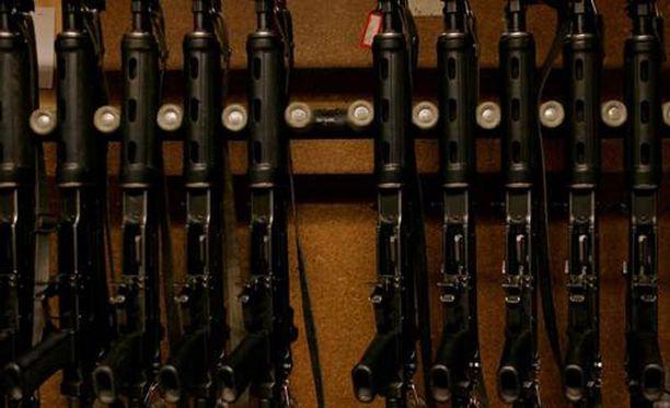 Lahdessa varastettu rynnäkkökivääri löytyi keskiviikkona. Kuvituskuva.
