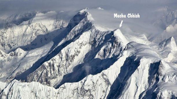 Kaikki Muchu Chhishin naapurissa olevat vuoret on valloitettu.