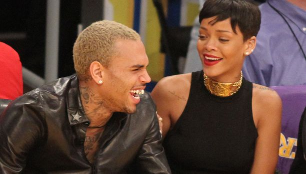 Chris Brown ja Rihanna eivät ole vuosiin olleet yhdessä. Kuva vuodelta 2012.