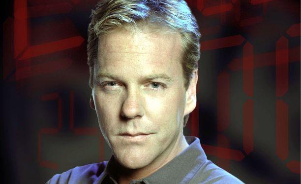 Kiefer Sutherland on nähty sarjassa keinoja kaihtamattoman Jack Bauerin roolissa.