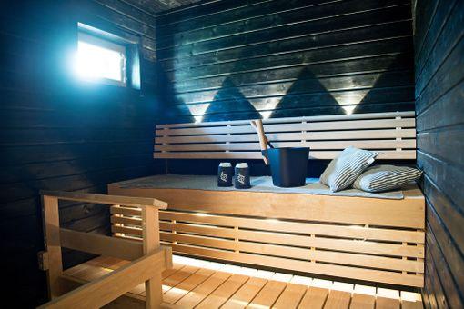 Ecohelmen sauna.