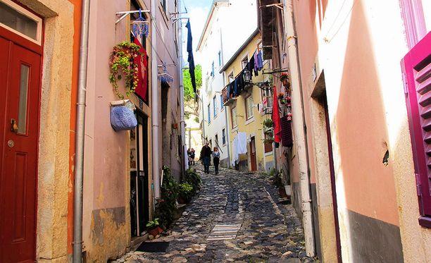 Lissabonin kujilla on tunnelmaa.