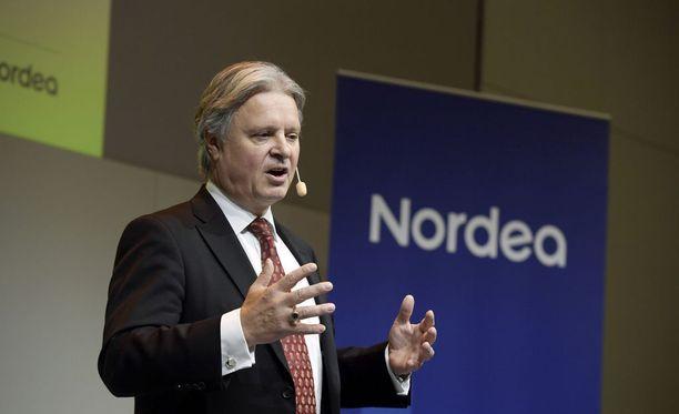 Casper von Koskull on toiminut Nordean konsernijohtajana vuodesta 2015 lähtien.