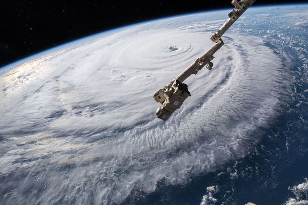 Nasa julkaisi kuvia Florencesta, joka on voimistunut kategorian 4 hurrikaaniksi ja jonka odotetaan yhä voimistuvan.