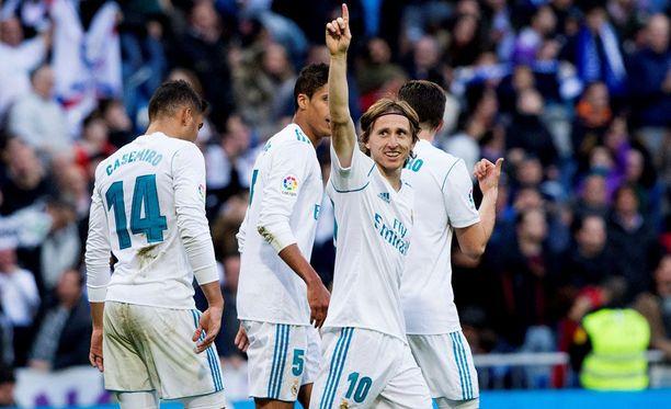 Real Madrid juhli tänään Deportivon kustannuksella.