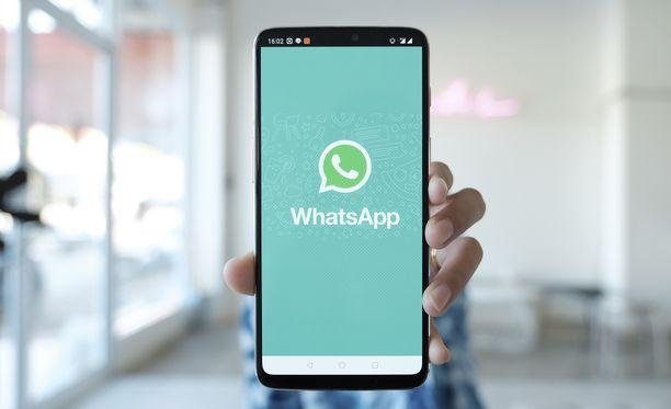 Whatsappiin salauksessa voi olla parannettavaa. Kuvituskuva.