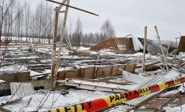Laukaan maneesionnettomuus sattui helmikuussa 2013.