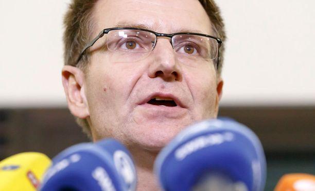 Saksan valtionsyyttäjäö piti tiedotustilaisuuden Berliinin terrori-iskusta perjantaina