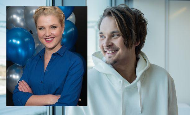 Roope Salminen ja Helmi-Leena Nummela asuvat yhdessä Helsingissä.