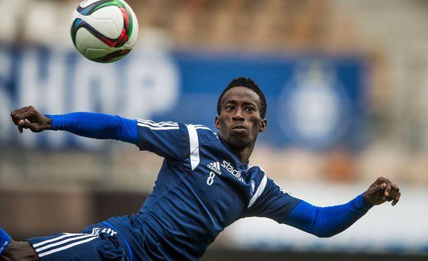 Demba Savage palasi HJK:hon.