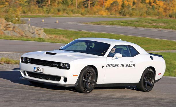 Dodge Challenger on 2-ovinen takavetoinen muskeliauto, jonka tehoskaala ulottuu 300:sta yli 700 hevosvoimaan.