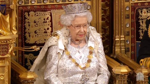 Kuningatar piti vuotuisen puheensa maanantaina.