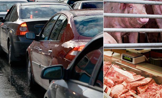 Autoilusta ja lihansyönnistä luopuminen ovat hankalia keskustelunaiheita ilmastoasioissa.