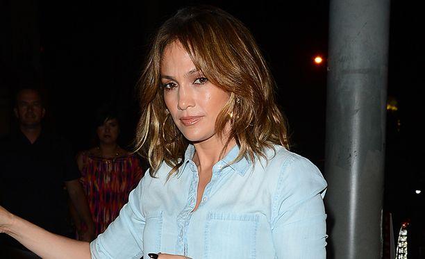 Jennifer Lopez erosi neljä vuotta sitten.