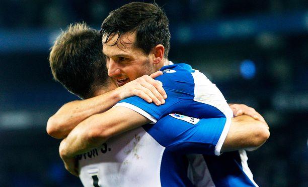 Vetovihjeessä luotetaan Espanyolin juhlivan tänään Gijonia vastaan.