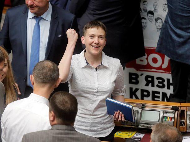Savtshenkosta tuli kerta heitolla kansanedustaja.
