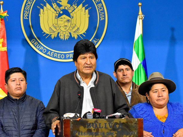 Evo Morales astui virkaansa vuonna 2006.