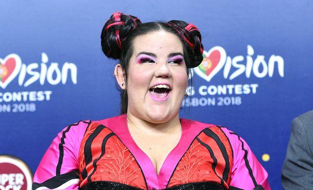 Israelin Netta Barzilai voitti Euroviisut viime keväänä.