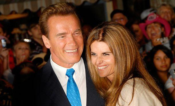 Arnold ja Maria vihittiin huhtikuussa 1986.