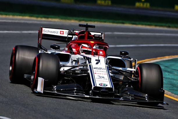Kimi Räikkönen oli perjantain kakkostreenien kuudes.