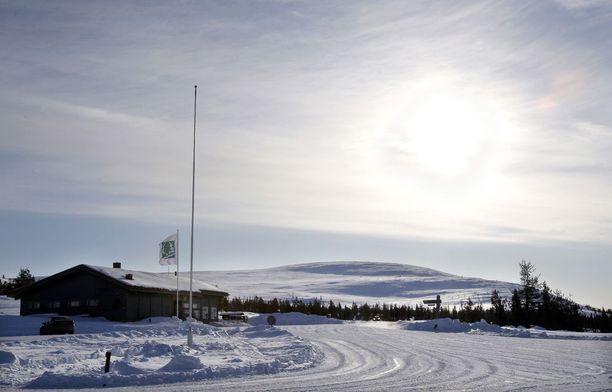 Muonion Laukukero on Pallaksen tunturijonoon kuuluva huippu. Laukukerolla sijaitsevat Pallaksen yhdeksän laskettelurinnettä.
