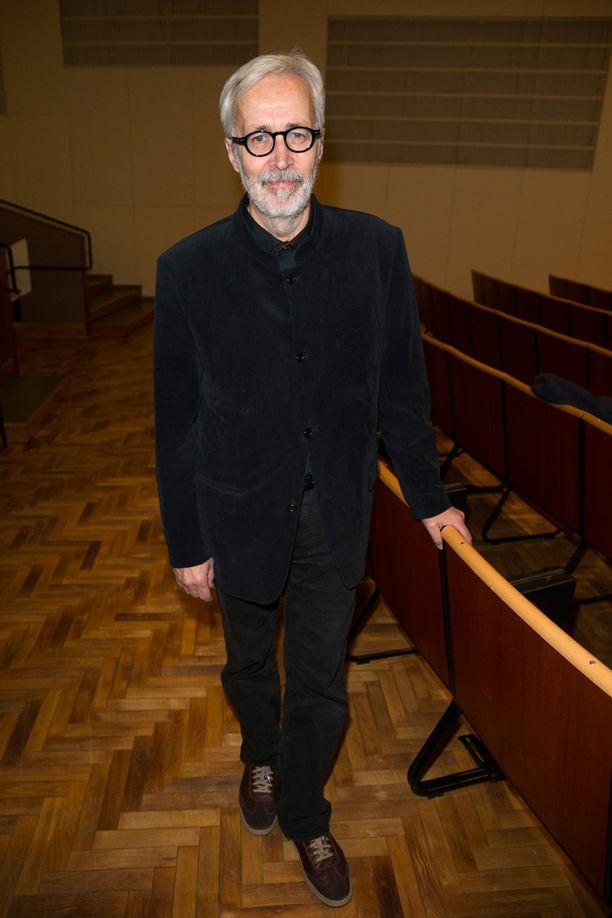 Kivikasvojen alkuperäiskokoonpanoon kuulunut Georg Dolivo, 70, oli mukana seuraamassa illan esitystä.