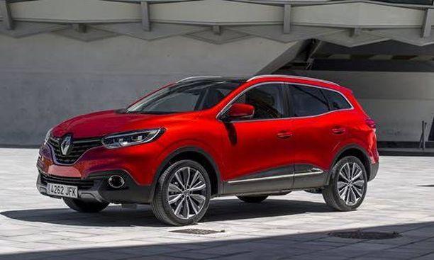 Renault Kadjar haastaa markkinoilla samaan yhtymään kuuluvan Nissan Qashqain.