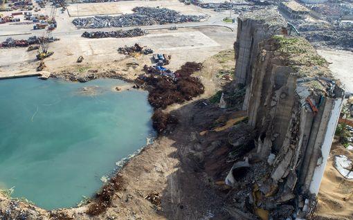 """Beirutin satamasta löytyi valtava määrä hylättyjä kemikaaleja – """"Riittävästi toiseen pommiin"""""""