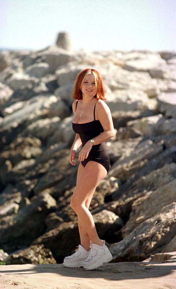 Spice Girlsin Geri Halliwell vuonna 1998.