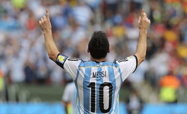 Lionel Messi on paukuttanut Brasilian MM-turnauksessa jo neljä maalia.