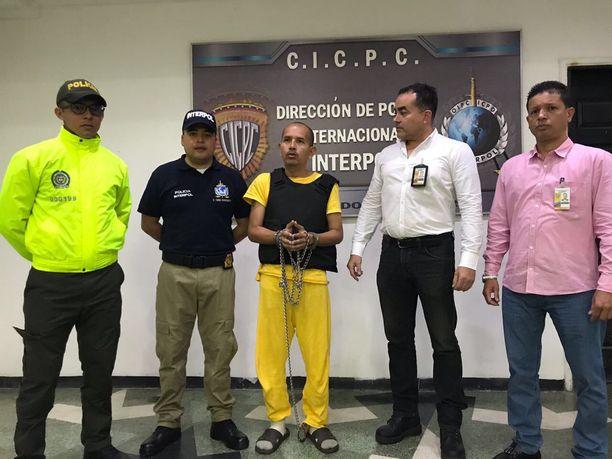 Juan Sanchez luovutettiin viime syyskuussa Venezuelasta Kolumbiaan.