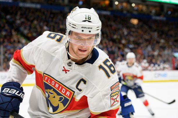 Florida Panthersin Aleksander Barkov on toista vuotta peräkkäin pelaajien mielestä NHL:n aliarvostetuin pelaaja.