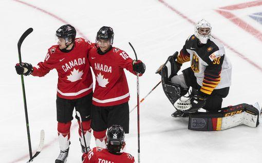 """Nuorten MM-kisoissa hurjia murskavoittoja – Kanada murjoi kunnolla Saksaa: """"Se olisi voinut olla 200–1"""""""