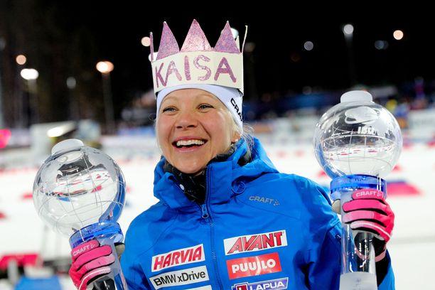 Harri Halme toimii Kaisa Mäkäräisen managerina. Mäkäräinen on Suomen yksilöurheilun valovoimaisimpia tähtiä.