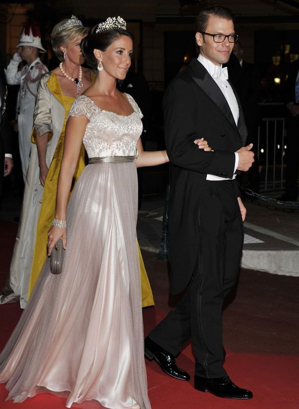 Ruotsin prinssi Daniel ja Tanskan prinsessa Marie.
