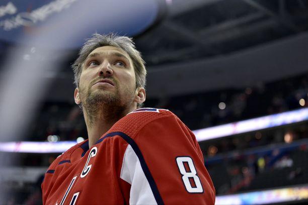 Aleksandr Ovetshkin tappeli ensi kertaa vuosiin - karuin seurauksin.