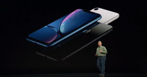 Tältä näyttää Iphone Xr.