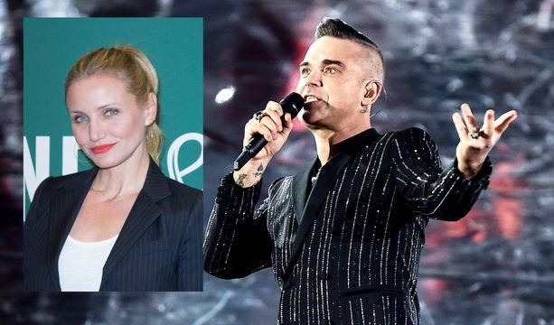 Robbie Williams kiitteli ystäväänsä Cameron Diazia parisuhteensa pelastamisesta.