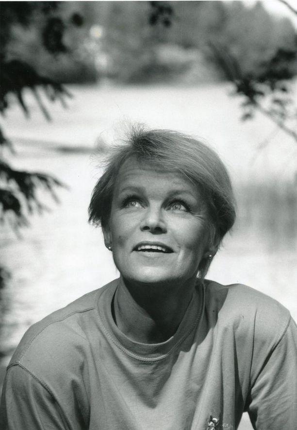 Katri Helena vuonna 1991...