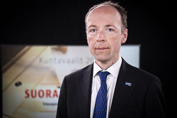 Jussi Halla-aho on sairauslomalla.
